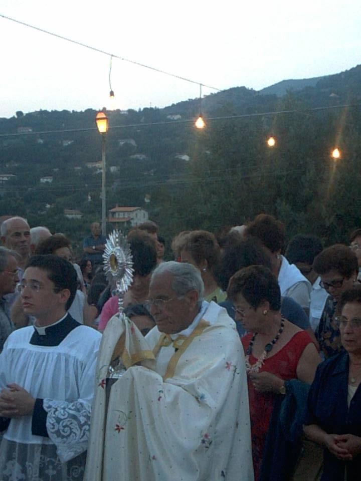 Processione Eucaristica, festa della Santuzza