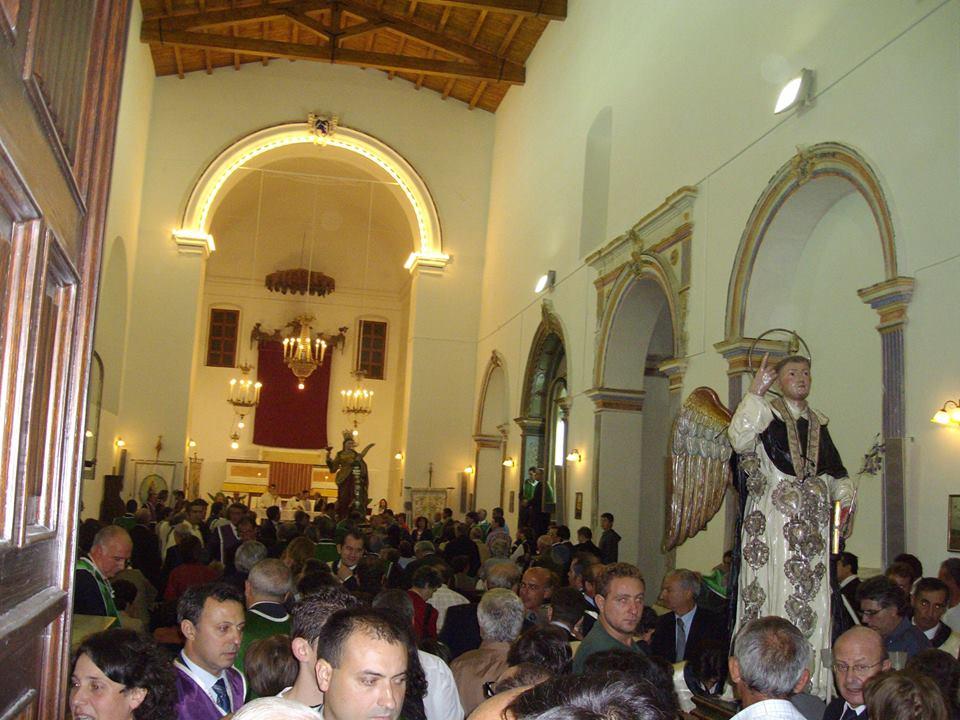 Rientro dei simulacri di San Vincenzo e di Santa Lucia