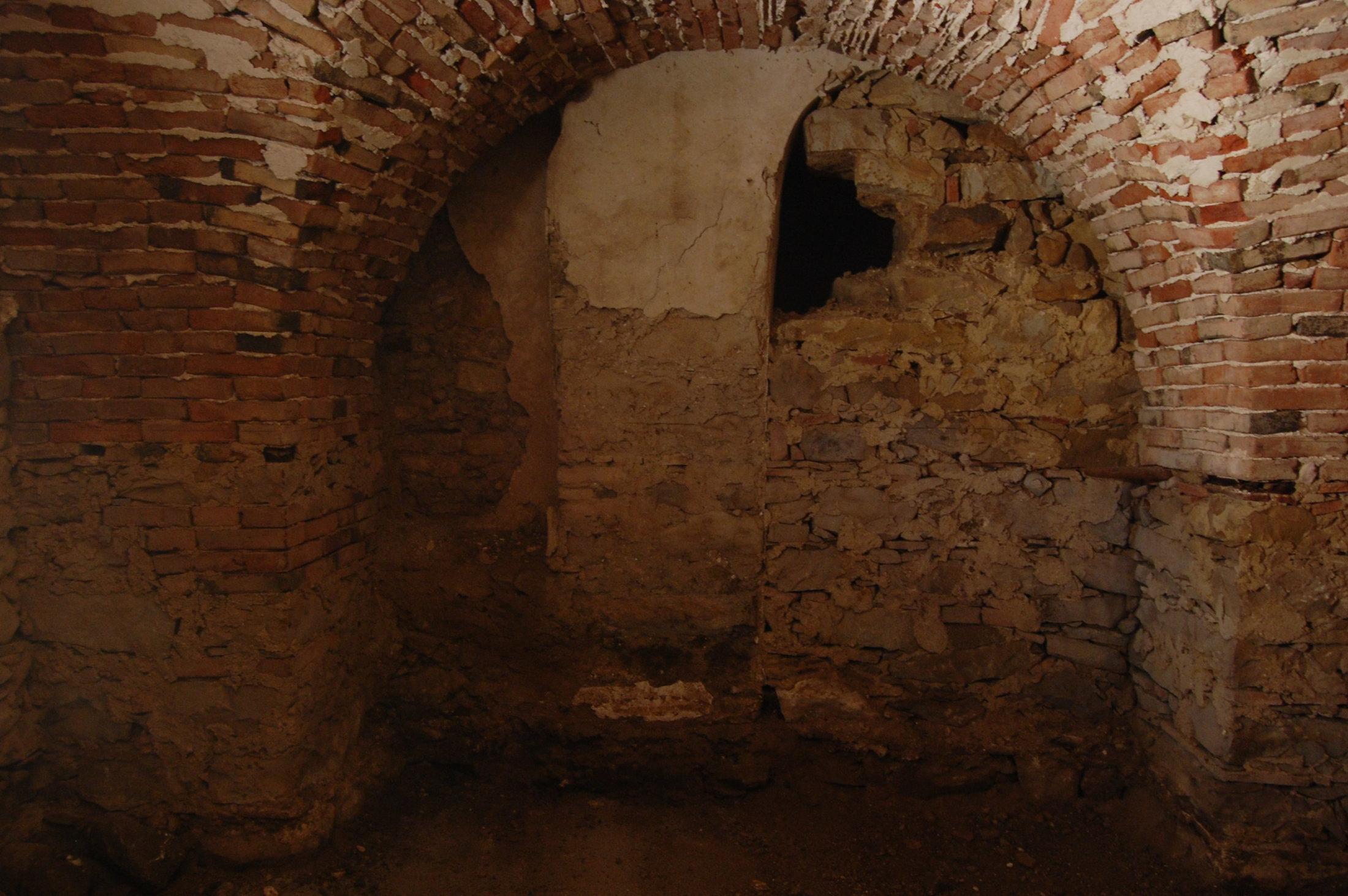Parete orientale cripta