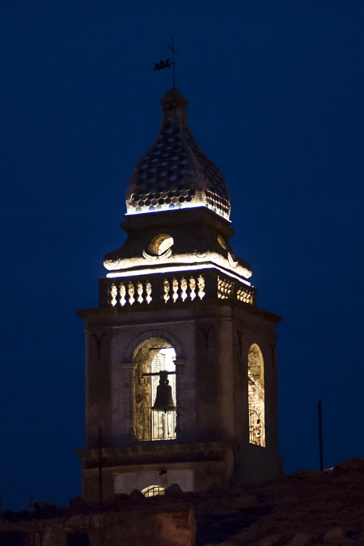 Dettaglio del campanile