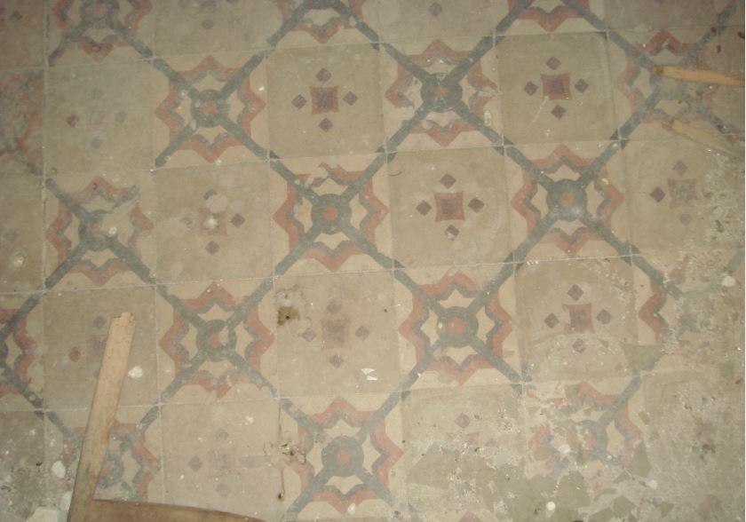 Pavimentazione sala interna