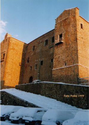Il castello nel gennaio del '99