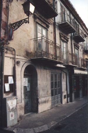 Scorcio prospettico lato piazza Margherita