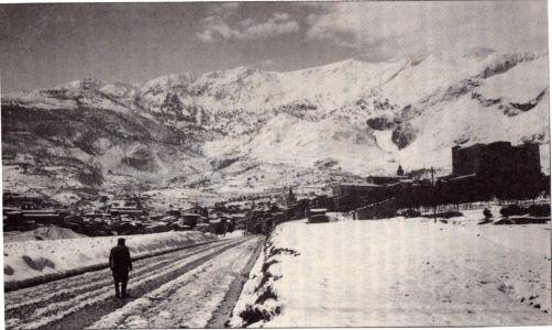La via Cefalù (via Dante Alighieri) nel 1947