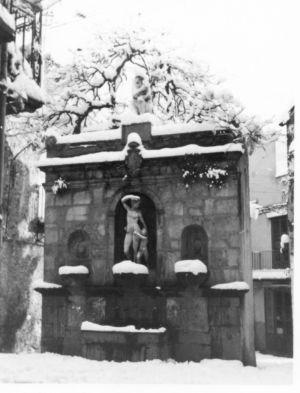 La Venere Ciprea nell'inverno del 1962