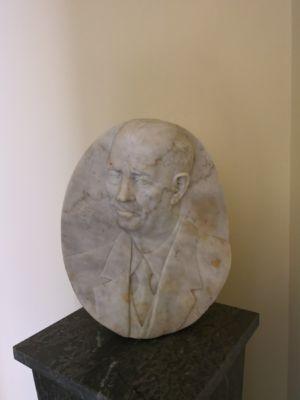 Mezzo busto in marmo