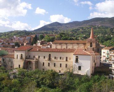 L'ex convento di San Francesco dopo i lavori di restauro, primi anni 2000